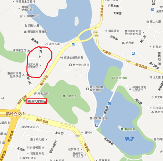 电脑城map